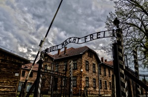 Auschwitz -- doesn't look so respectable.